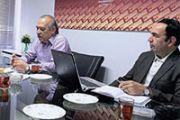 نشست مطبوعاتی اعضای هیات مدیره انجمن توسعه بهره وری با روزنامه جهان صنعت